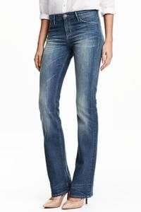 Discount Boot Cut Regular Jeans Less Than Half Price @ H&M