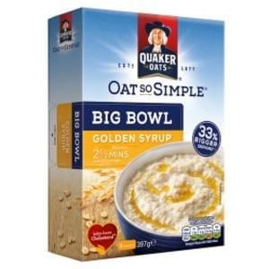 Quaker Oat So Simple Golden Syrup Reduced @ Asda