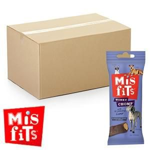 Misfits Wonky Chomp: Lip Smacking Liver (12 Packs) @ Home Bargains