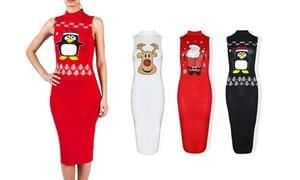 Christmas Bodycon Dress (with delivery)