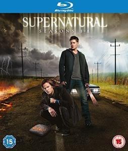 Price Drop Supernatural 1-8 Blu-Ray Box Set