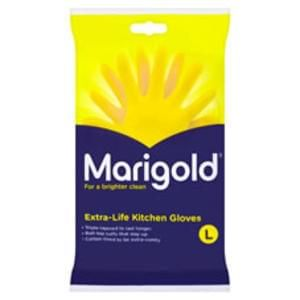 Marigold Kitchen Rubber Gloves Large