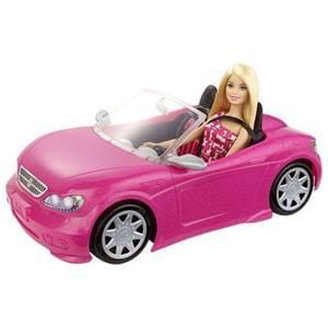Barbie Convertible Car & Doll Playset