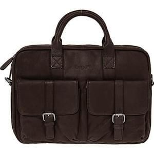 Discount Bugatti Brown Leather Messenger Bag Save £152 @ TKMax