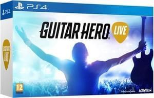 Discount Guitar Hero Live PS4 (Includes Guitar) Save £22 @ Tesco Direct