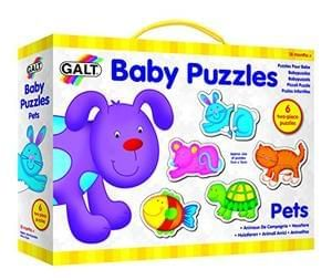 NEW. Galt Toys Baby Puzzle - Pets