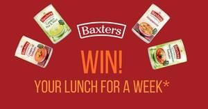 Win five cans of Baxters soup