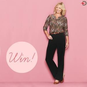 Tummy-slimming trousers