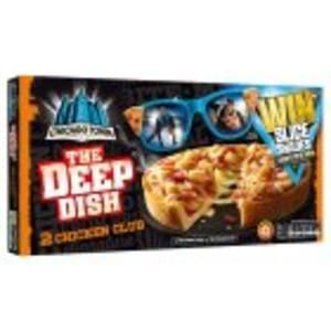 Chicago Town Deep Dish Chicken Club 320g 50% off at Sainsbury's
