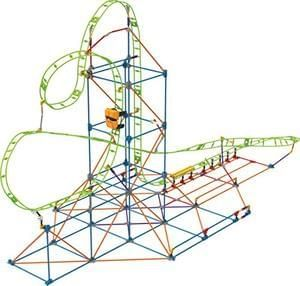 K'NEX Infinite Journey Roller Coaster Building Set. AGES 7+