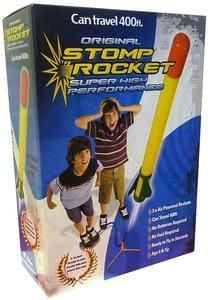 Original Stomp Rocket.      Going up! 400 feet! Awesome!