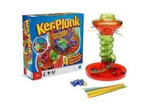 Hasbro Kerplunk Board Game. Age 5+