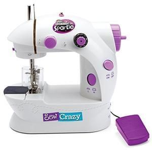 Discount Shimmer and Sparkle Sew Crazy Sewing Machine Save £8 @ Amazon