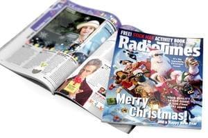 Radio Times Magazine 12 Issues Inc Xmas & New Year £1