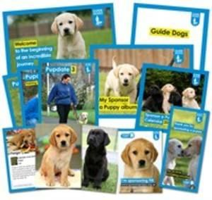 Sponsor a puppy from just £1 a week @ Guide Dogs