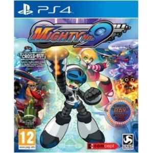 Mighty No.9 PS4 Game (with Ray Expansion + Artbook & Poster)