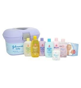HALF PRICE Johnsons' Baby Skincare Gift Set