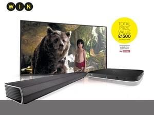 Win 12 months of Sky Q with ultra HD plus an LG Soundbar