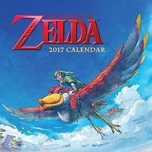 The Legend of Zelda 2017 Wall Calendar Cheapest price
