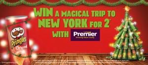 Win a trip to New York For 2 with Pringles