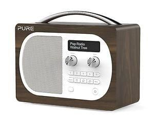 Pure Evoke D4 Portable DAB Digital FM Radio Alarm Clock