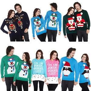 Knitted Christmas Jumpers Buy One Get One Free