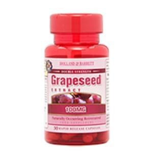 Holland & Barrett Grapeseed Extract Capsules 100mg