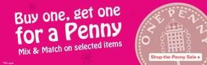 Holland & Barrett: buy one get one for penny deal