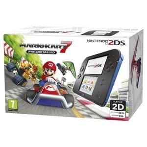 Nintendo Handheld Console 2DS - Includes Mario Kart 7 pre-installed