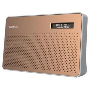 Goodmans Canvas DAB Radio copper