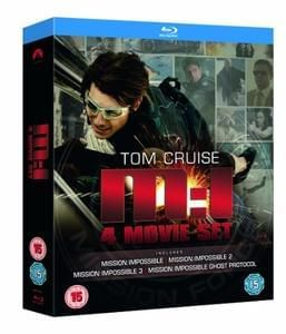 Mission Impossible Quadrilogy Blu-Ray Deal