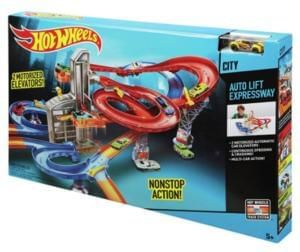HALF PRICE: Hot Wheels Auto Lift Expressway Playset. Bargain!