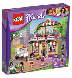 LEGO Friends Heartlake Pizzeria - 41311 £19.99 at Argos. Save 20%.