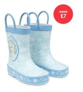 Disney Frozen Wellies for £5!! Limited sizes