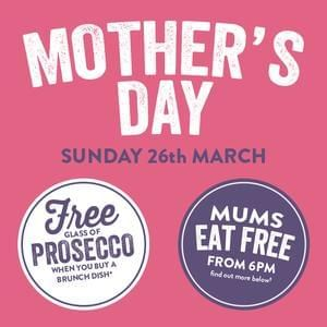 Moms Eat For Free On Mothers Day