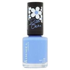 Rimmel 60 Seconds Nail Polish 860 Bestival Blue 8ml