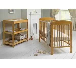 mamas papas 2 piece cot and changer nursery furniture set save