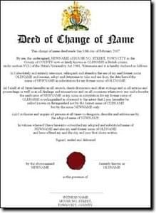 deed poll form - Bogas.gardenstaging.co