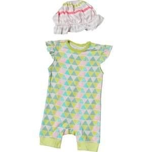 French Connection Baby Girls Romper Set Techno Valley