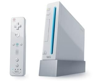 Nintendo Wii (White) Console - Inc. Wires & Controller