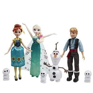 Disney Frozen Fever Friends Gift Set - Was £39.99 - Now £19.99