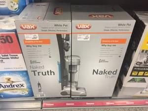 VAX Bagless Upright Vacuum Cleaner