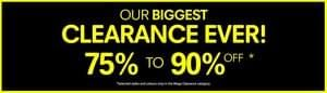 Regatta mega clearance 75%-90% off