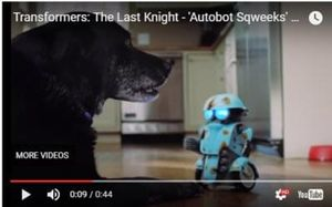 COOL! Transformers The Last Knight - Autobot Sqweeks RC. WATCH THE VIDEO!