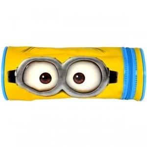 Minions 2 Barrel Pencil Case Save £2.99 Free Delivery