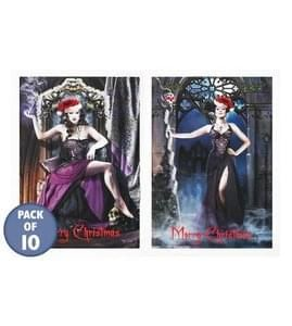 Gothic Christmas cards