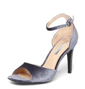 Dorothy Perkins Velvet Shay Sandals
