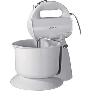 Cookworks HM729WB Hand Mixer with Bowl Free C+C