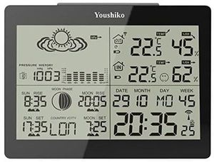 Amazon #1 BEST SELLER in Weather Stations. MAKES A GREAT PRESENT!