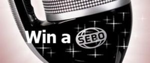 Win A Sebo Vacuum Cleanr